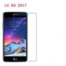 3 PCS HD telefone filme PE preservar a visão para LG K8 toque 2017 protetor de tela com Limpar