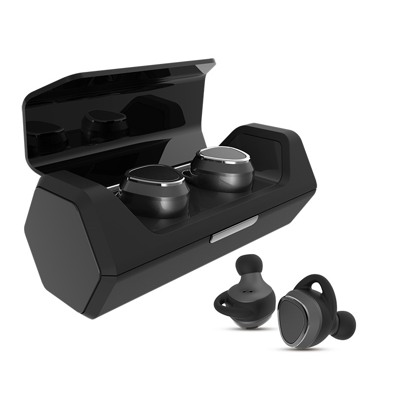 TWS Mini Bluetooth Earphone True Wireless Twins Earphones Stereo Noise Cancelling Earbuds with Charging Case for Smart phones