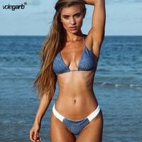 Volegarb Brand Brazilian Bikini 2018 Swimwear Women Swimsuit Sexy Push Up Underwire Swimming Bathing Suit Beachwear