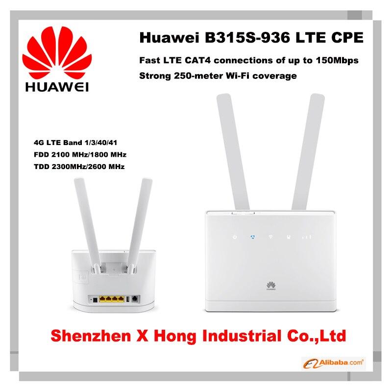 New Huawei B315 B315s 936 4G LTE FDD TDD Mobile Wireless CPE