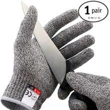 1 Pair Cut Resistant Kitchen font b Gloves b font Anti Cutting Work font b Glove