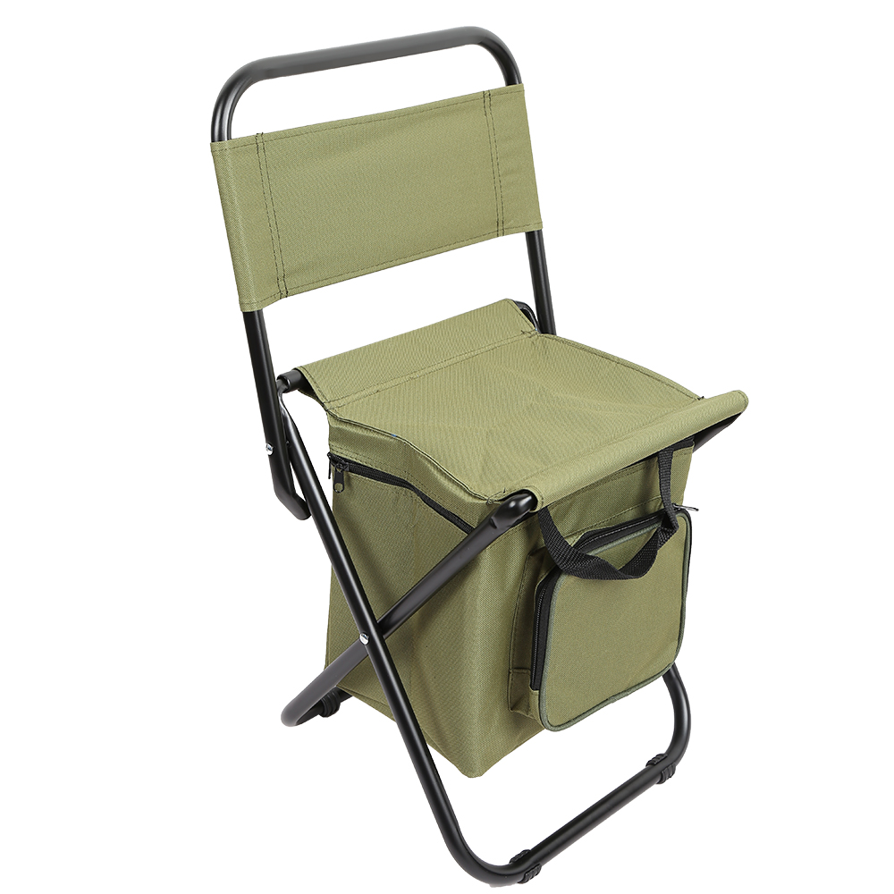 Folding Chair Backpack Fishing Chair Folding Chair Backpack Portable Ice Thermos Bag Folding Stool Backpack Outdoor Bifunctional Fishing Bag And Chair In Fishing Chairs From