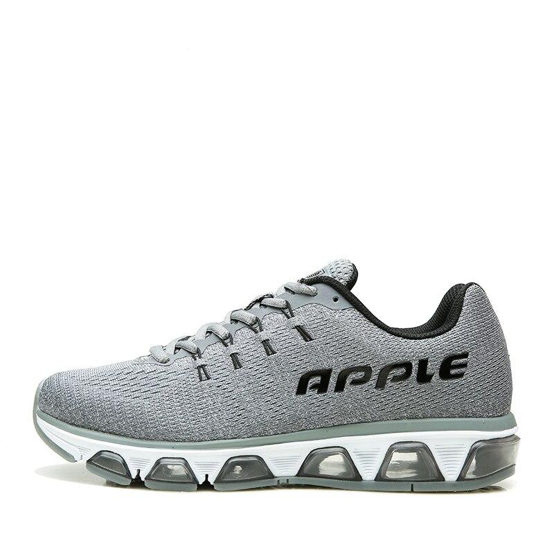 017 Forró eladó Férfi futócipő kiváló minőségű lélegző hálós csipke felső férfi cipők viselni ellenálló párna egyetlen cipő AP1803