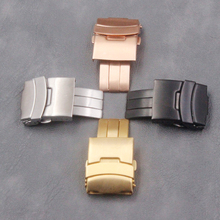 Watch accessories men's folding buckle 20mm22mm for Persian Ling ladies outdoor sports and leisure waterproof stainless steel bu цены