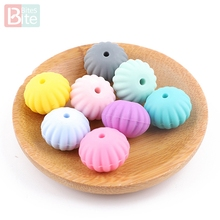 Bite Bites 10PC Silicone Beads Scallop Diy Baby Products Foo
