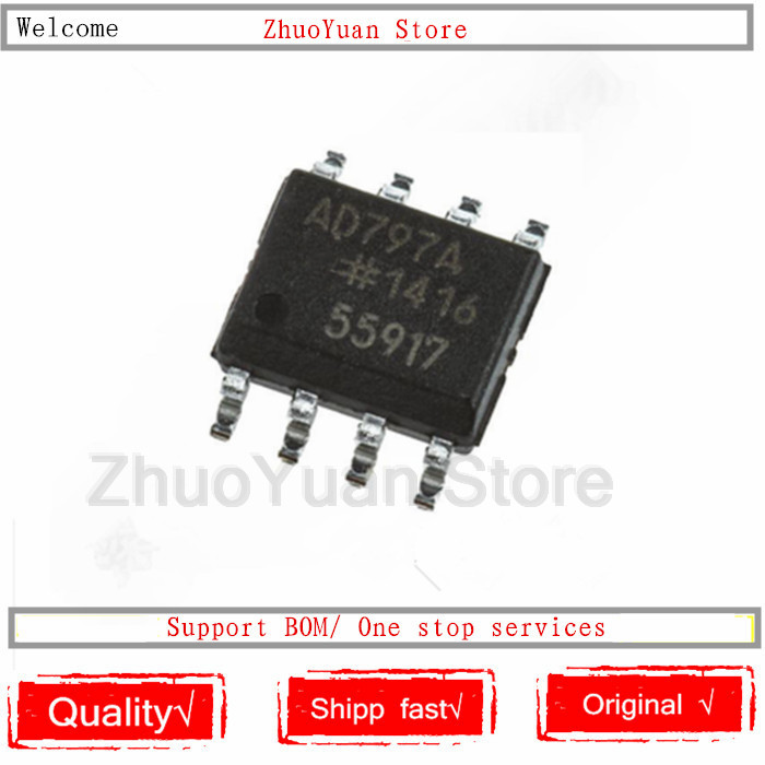 1PCS/lot AD797ARZ SOP-8 AD797AR SOP AD797 SOP8 New Original IC Chip