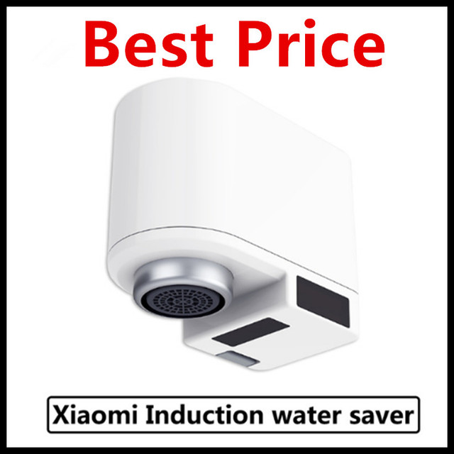 (In Stock) Xiaomi Zajia Induction Automatic Water Saver Tap Faucet Anti-overflow Swivel Head Water Saving Nozzle Tap Smart Home