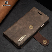 DG MING Leather Case SFor Fundas Apple Iphone X Case For Coque Iphone X Case Cover