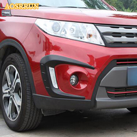 Front Fog Lamp Eyebrow Prevent Chafing The Eyebrow Decoration Frame Covers Car Accessories For Suzuki Vitra