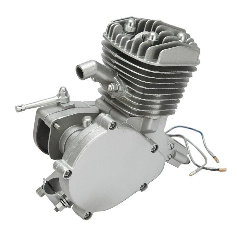 Single Cylinder 2 stroke Gasoline Motorcycle Engine 80CC