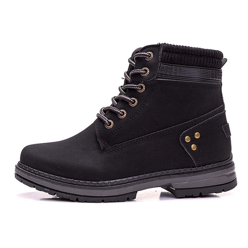 Women Boots Solid Lace Up Casual Ankle Boots Round Toe Shoes Student Snow Boots Classic Winter Warm Ladies Shoes T## 21