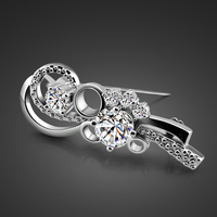 sterling silver brooches jewelry,fashion 925 sterling silver brooches