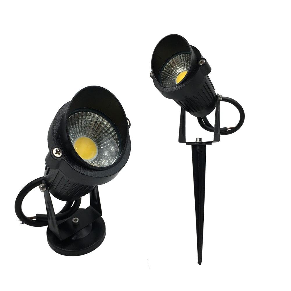 IP65 Waterproof Garden Led Light Outdoor 3W 5W Spike Outdoor Lighting 110V  220V 12V LED Lawn