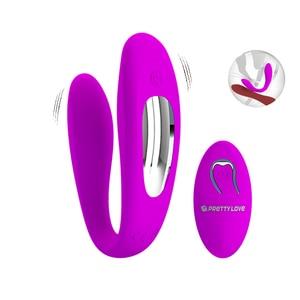 Беспроводной Вибратор с пультом управления We Share Vibe, вибратор точки G, Стимулятор клитора, двойной вибратор, секс-игрушки для пар, женщин, взр...