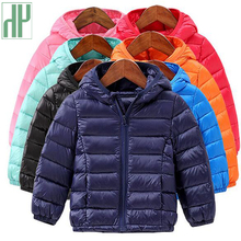 Children jackets for girls autumn spring winter kids boys coat Lightweight down cotton girl outerwear windbreaker reima jackets 8689577 for girls polyester winter fur clothes girl