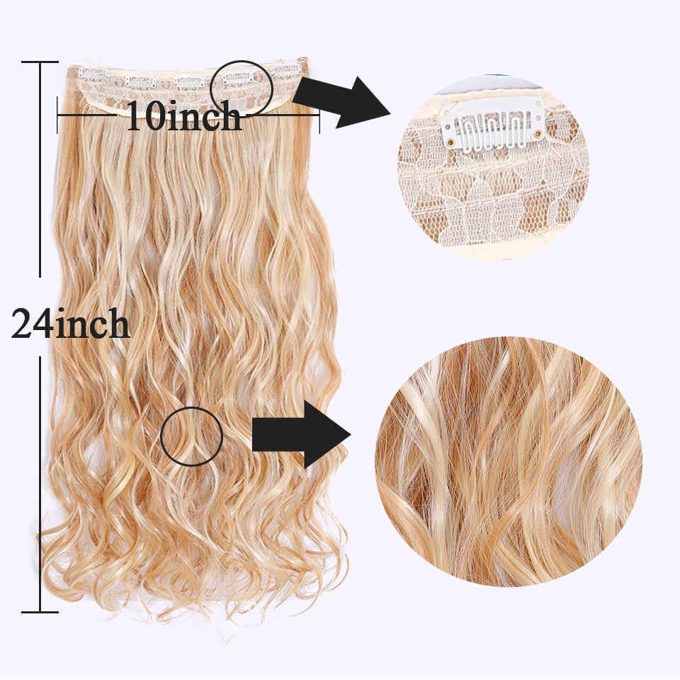 SHANGKE-28-Long-Wavy-5-Clip-In-Hair-Extensions-Heat-Resistant-Synthetic-Fake-Hairpieces-Natural-False (4)