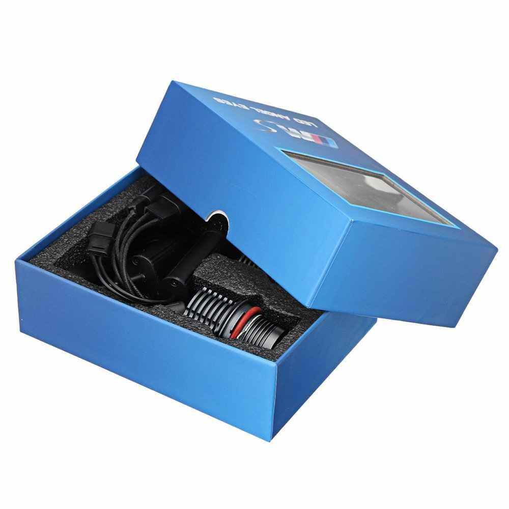 2 stuks 80W Angel Eyes Foutloos LED Halo Ring Lampen Voor BMW E39 E53 E60 E63 Super bright Auto Front Light Lamp Koplamp