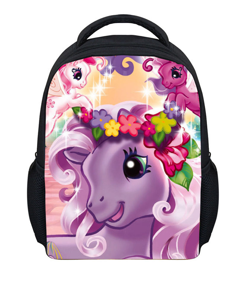 Cartoon Backpack Bag Kids Escolar In Fashion Shipping Little Mochila For C164 Gift Style My 99hot Backpacks Pony 15 Us19 Girls Children Free Sale 54LARj