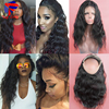 8A Pre Plucked 360 Lace Virgin Hair Body Wave 360 Lace Frontal For Black Women Brazilian Virgin Hair Lace Frontal With Baby Hair