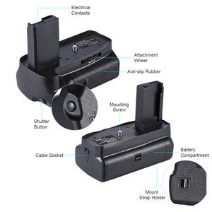 Image 4 - Canon EOS 1100D 1200D 1300D / Rebel T3 T5 T6 DSLR 카메라 용 2 * BG 1H 배터리 그립 용 Andoer LP E10 수직 배터리 그립