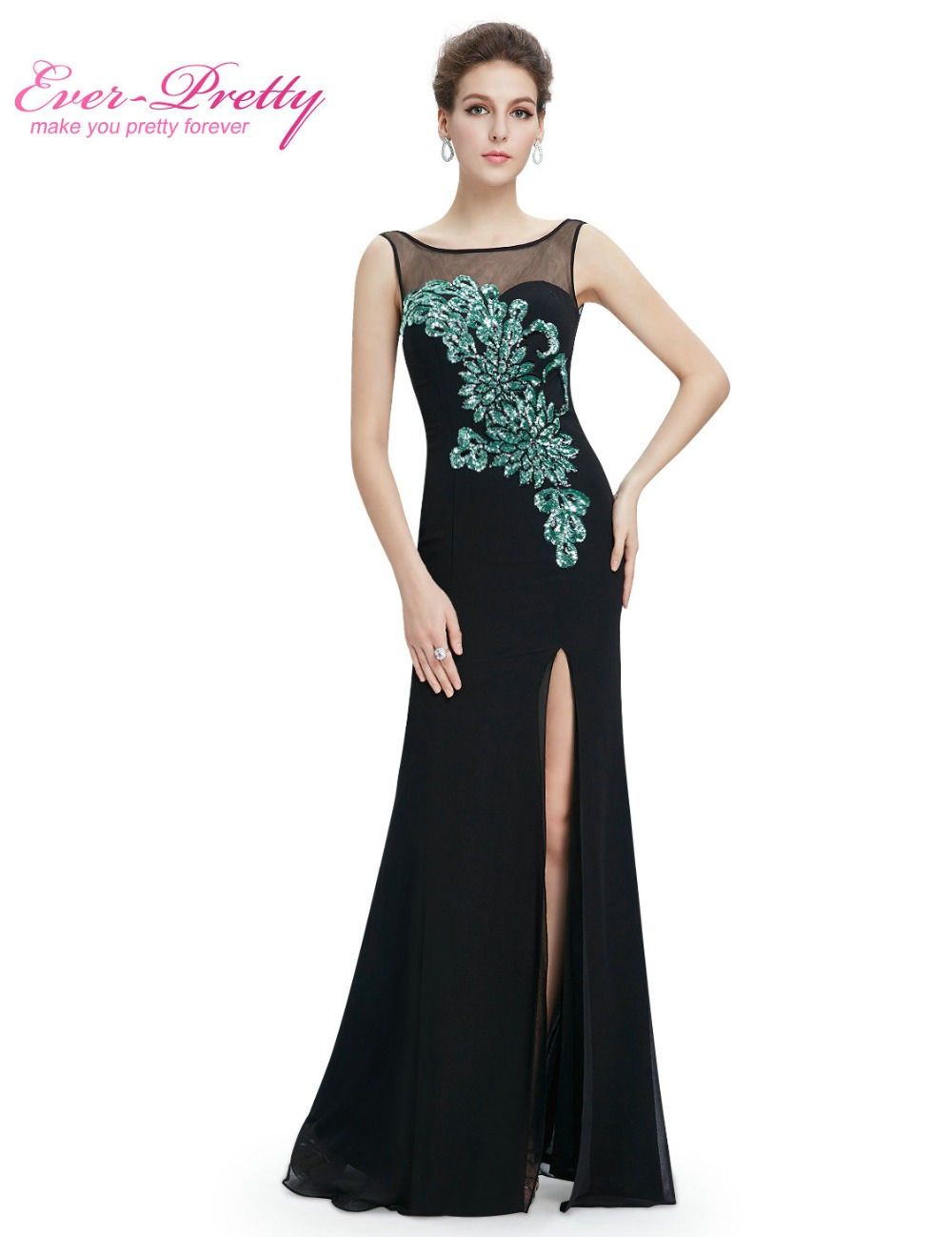 [Clearance Sale] Long Elegant Prom Dresses 2017 Black ...