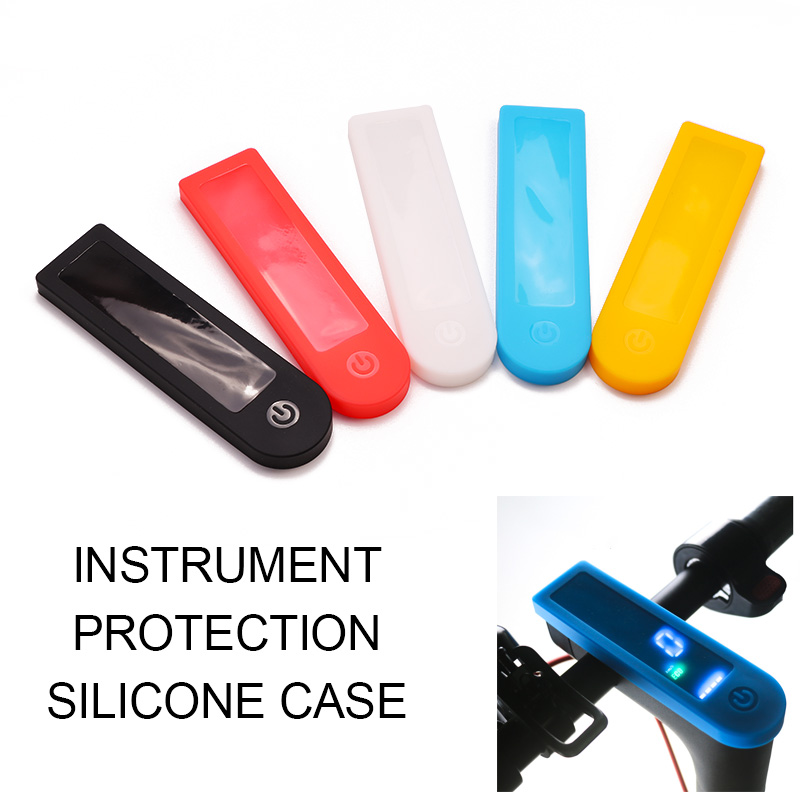 Silica gel Protective Covers Dash Board Silicone Case Waterproof <font><b>Xiaomi</b></font> <font><b>Mijia</b></font> <font><b>M365</b></font> <font><b>Pro</b></font> <font><b>Electric</b></font> <font><b>Scooter</b></font> Skateboard Accessories image