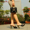 Feminino Pumps and Bag Matching Set High Quality Shoes And Bags For Fashion lady Pumps Special Offer Direct Selling