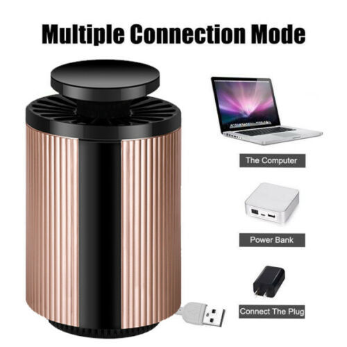 USB Mosquito Insect Killer Electric LED Light Fly Bug Zapper Trap Catcher Lamp USB Gadgets 4