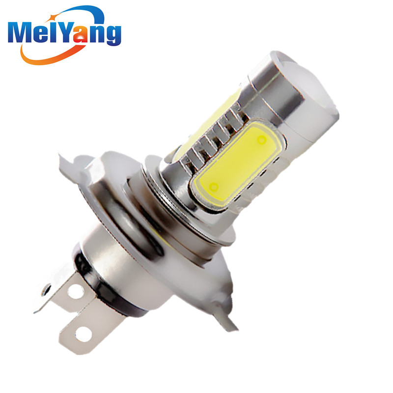 1156 BA15S 1157 BAY15D H1 H3 H4 H7 H11 T10 9005 HB3 9006 HB4 7.5W Auto Car LED Lamps Tail Brake Headlight Fog Turn Signal Bulbs tcart 2x 9005 hb3 9006 hb4 dual color car led headlight white yellow headlamp bulbs fog lamps for plips chip 36w auto led light