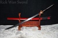 최고 품질 saya 일본어 samurai sword katana 1095 높은 탄소 스틸