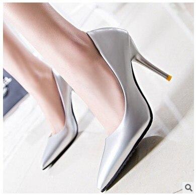 2016 New font b woman b font high heels sexy font b woman b font pointed