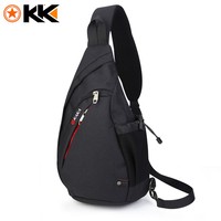 KAKA Casual Men Chest Bag Pack Anti Theft Crossbody Bags Multifunction Nylon Waterproof Chest Bags Shoulder