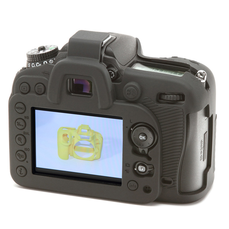 Soft Silicone Rubber Camera Protective Body Case Skin For Nikon D7200 D7100 DSLR Camera Bag protector cover