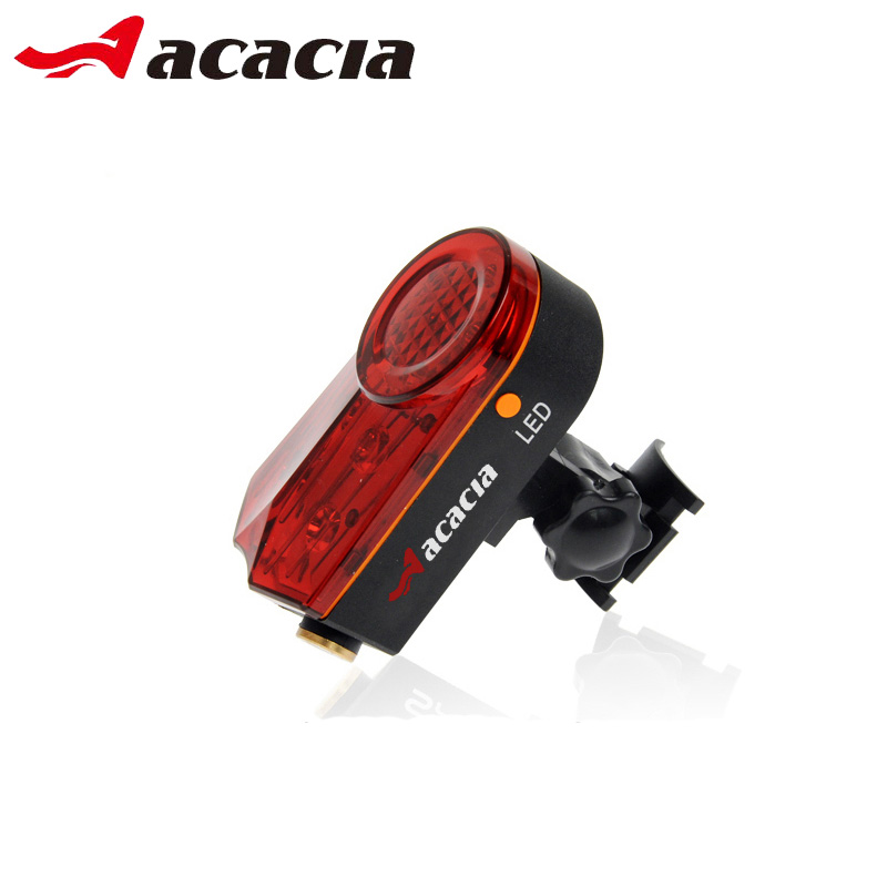 Acacia Bicycle Tail Light Mountain Road Bike LED Light Safe Warning Bicycle Turn Signal Lamp Bikes Cycling Accessories 06438