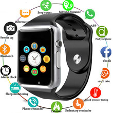 A1 Smart Watch Bluetooth WristWatch Sport Pedometer With SIM Camera Smartwatch For Android Smartphone Russia T15 PK DZ09 Q18 X6(China)