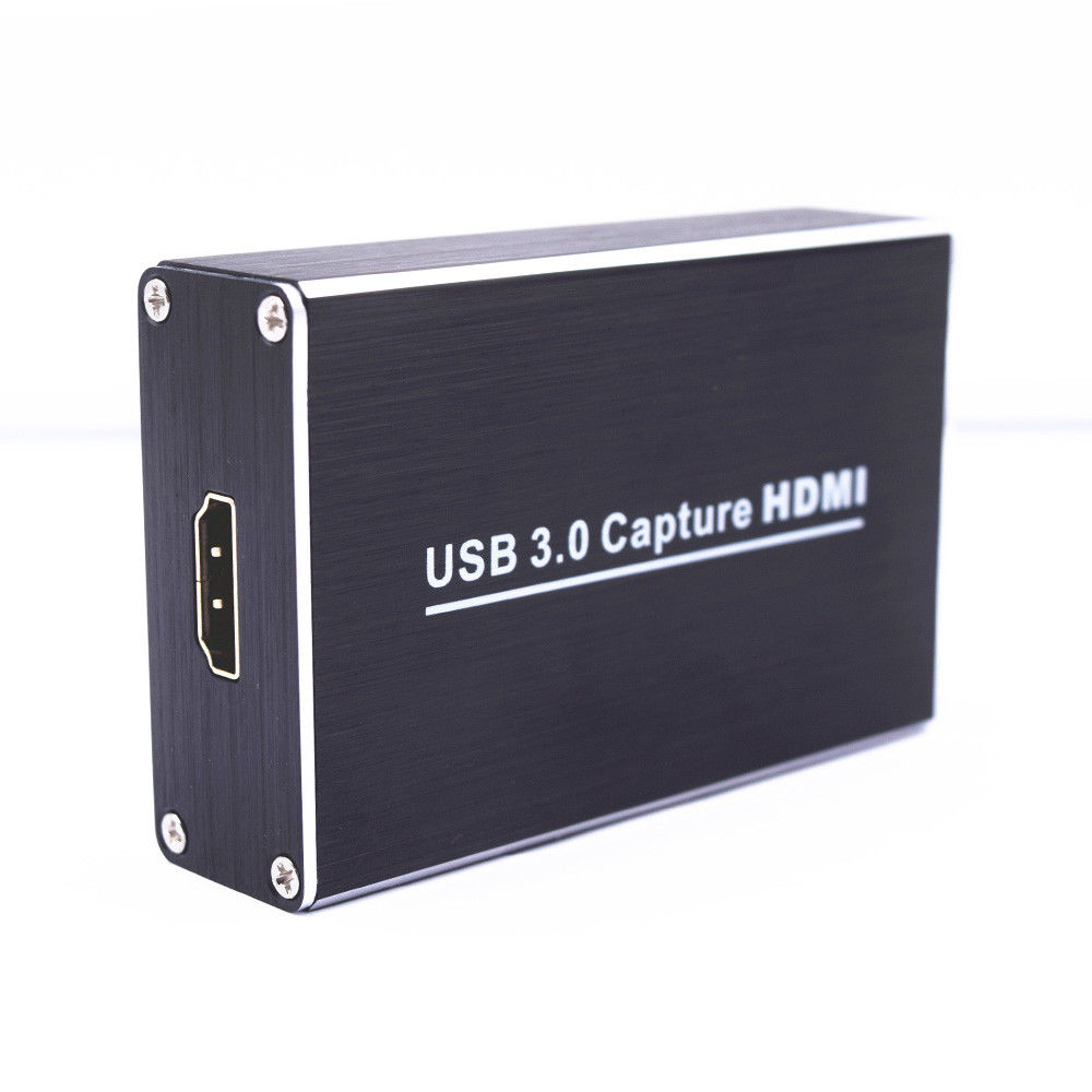 цена на Full HD USB3.0 1080P HDMI Video Capture Card Box standard for Windows/Linux/Mac HDMI Capture Dongle For USB UVC UAC