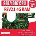 Новая материнская плата S300CA для ASUS S300CA S300C VivoBook материнская плата для ноутбука S300CA материнская плата 987/1007U REV2.1 4G RAM