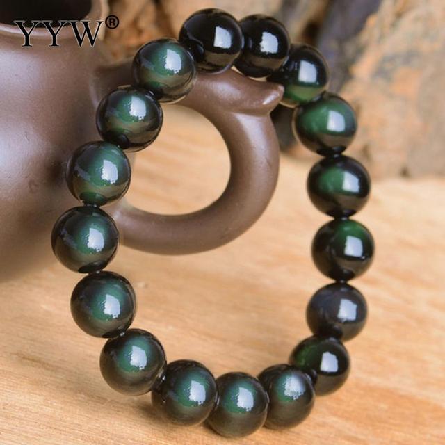 Bracelet D'Obsidienne