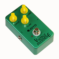 JOYO JF 01 Electric Bass Guitar Effect Pedal Vintage Overdrive DC 9V True Bypass Dynamic Compression/Guitar Accessories