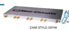 [BELLA] Mini-Circuits ZC8PD1-10-S+ 300-1000MHz Eight SMA Power Divider