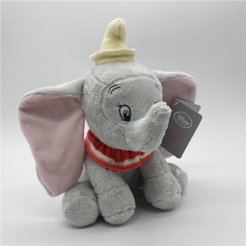 New Official Disney Dumbo The Elephant 25cm Soft Plush Toy