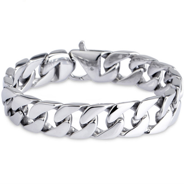 MB 214 Men Bracelet 22CM 316L Stainless Steel Jewlery Men Gift Jewelry Dragon Silver Bangle,Fahion, modern, wholesale