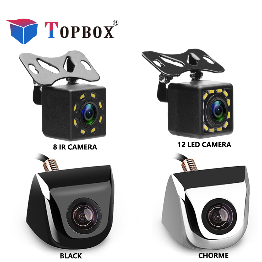 Topbox Car Rear View Camera 8 LED Night Vision Reversing Auto Parking Monitor CCD Waterproof 170 Degree HD Video topbox car rear view camera 8 led night vision reversing auto parking monitor ccd waterproof 170 degree hd video