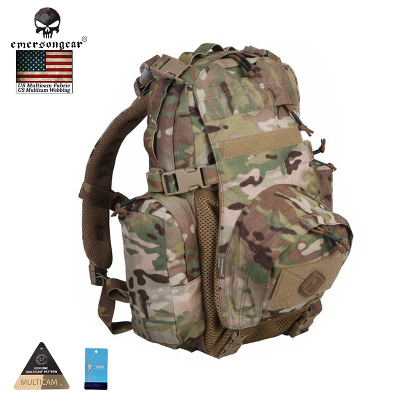 EMERSONGEAR Yote Rucksack Hydration Travel Sport Bag Molle Military Army Bag Tactical Backpack Shoulder Hiking Backpacks emerson yote rucksack hydration tactical bag 1000d cordura molle military tactical backpack shoulder hunting bag highlander