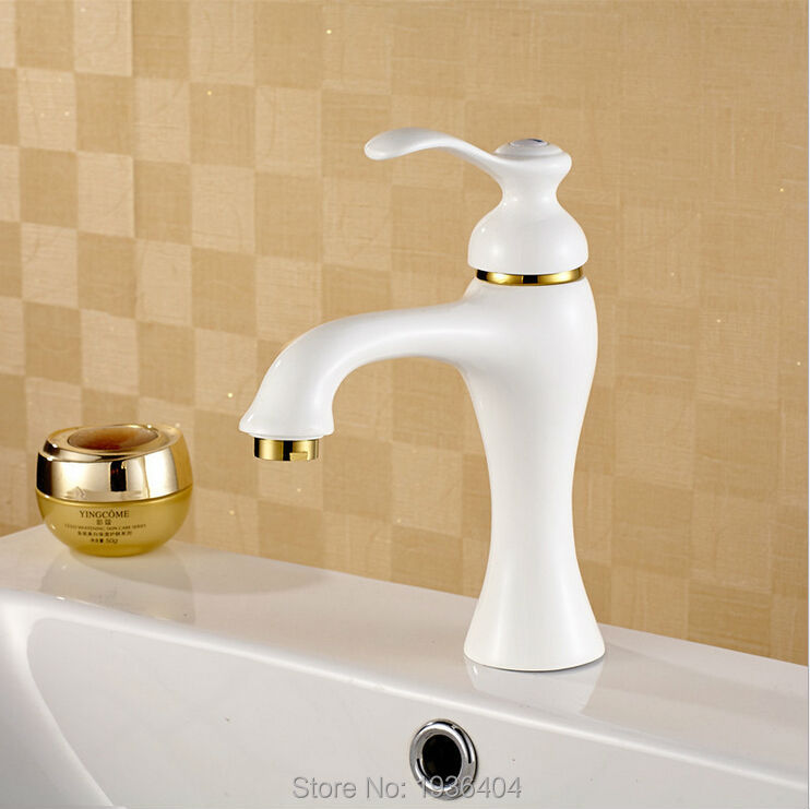 Pastoral retro hot and cold taps bathroom products