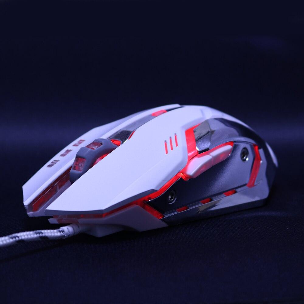 Vezetékes Gaming egér mause Állítható DPI LED optikai USB egér - Számítógép-perifériák - Fénykép 2