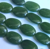 For Necklace Bracelet 13X18mm Rare Green Peridot Oval Loose Beads Gift For Women Girl Loose Bead