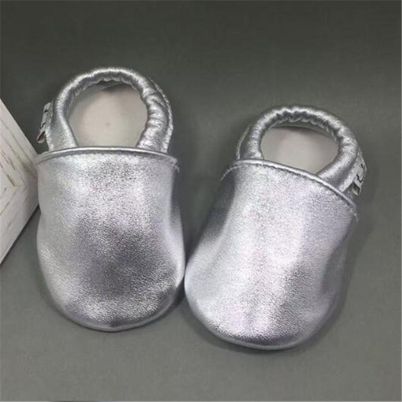 Valódi bőr újszülött fiú cipő puha talpú baba bőr papucs kisgyermek mokaszin scarpe neonata chaussure fille 0-18M