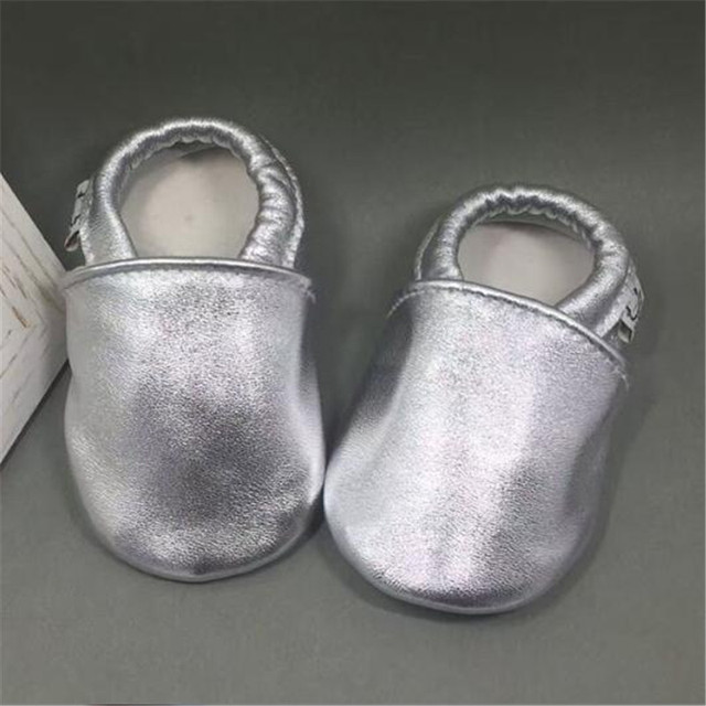 66ca8bf8f6b42 Genuine Leather Newborn Baby Boy Shoes Soft Soled Baby Leather Slippers  Toddler Moccasins scarpe neonata chaussure