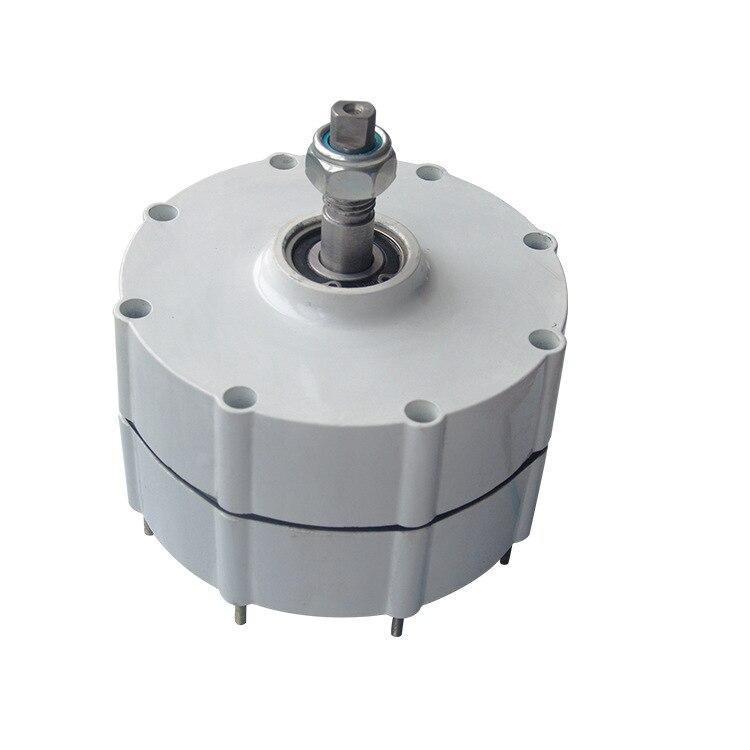 e8a232c4b78 Generador de viento venta caliente Generador Eolico Generador de energía  eólica alternador 2018 para 800 W 24 V 48 V Ac bajo rpm imán permanente Pmg  en ...
